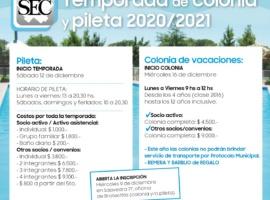 VALORES PILETA 2021